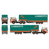 Lommerts DAF 3600 Trailing Axle With Classic Stepframe Trailer