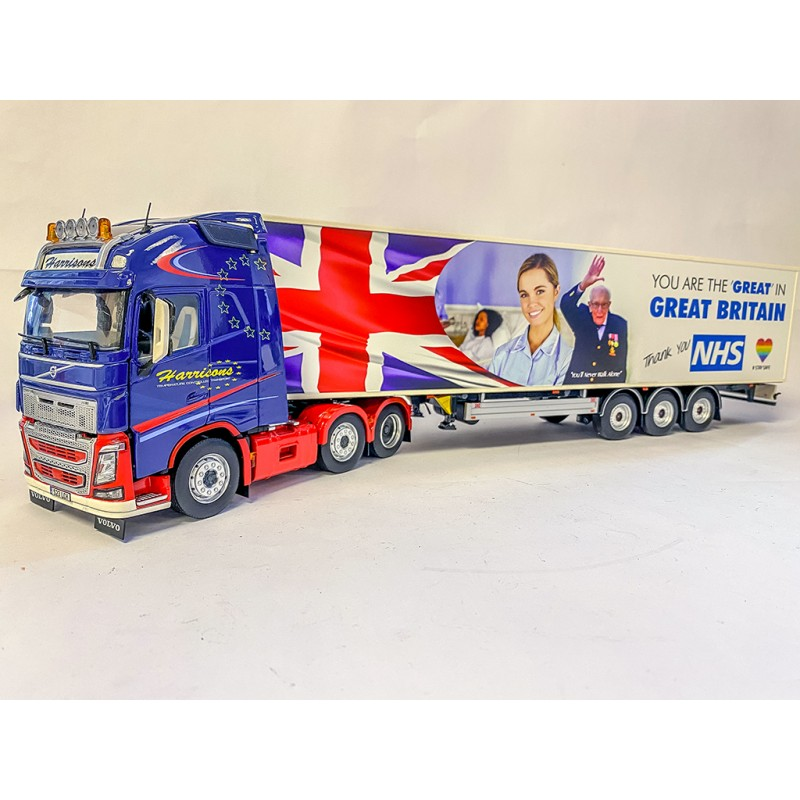 "Harrisons Transport ""Thank you NHS"""