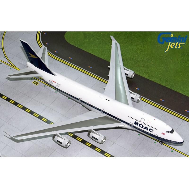 Boeing 747-400 British Airways 100 BOAC Retro G-BYGC 1:200 Scale