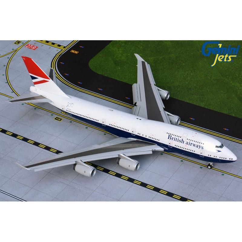 "Boeing 747-400 British Airways ""Negus Retro Livery"" G-CIVB 1:200 Scale"