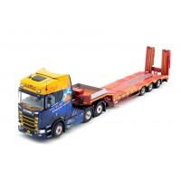 JM Paterson Scania S-Series Topline 6 x 2 with 3-axle Semi Lowloader **B-CHOICE**