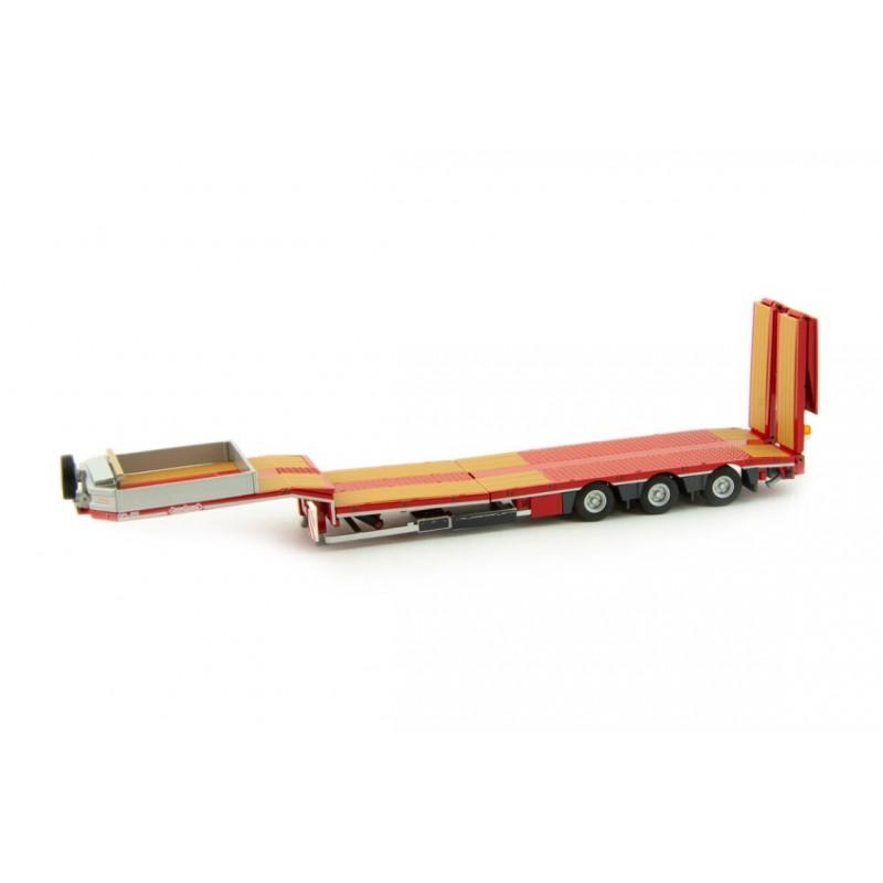 Nooteboom Redline Series - Mcos-48-03Eb Semi Lowloader With Wooden Floor 1:32 Scale