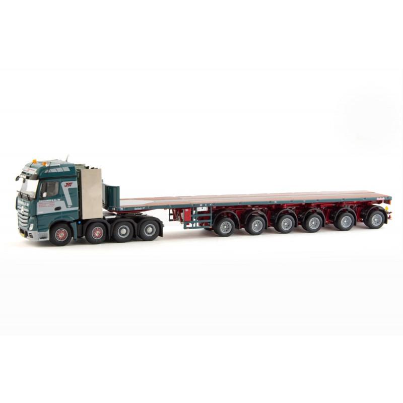 Brouwer - Ballasttrailer 6-Axle With Mercedes Actros Bigspace 8X4