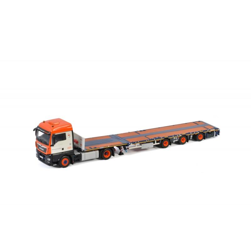 Universal - Megatrailer 3-Axle With Man Tgx Xlx 4X2