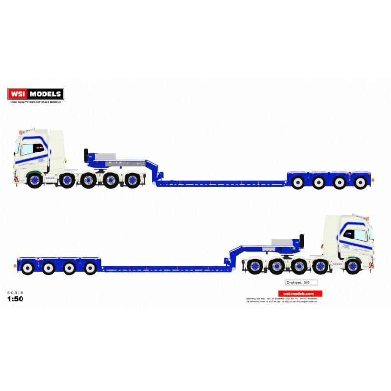 Bierings Euro-Px 4-Axle + Volvo Fh4 10X4