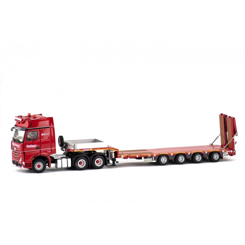Nooteboom Redline Series – 4-Axle Mcos Semi Lowloader With Mercedes-Benz Actros Gigaspace 6X4