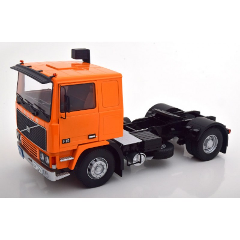 Volvo F10 1977 Orange/Black 1:18 Scale