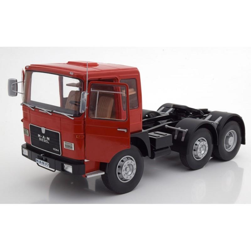 M.A.N. 16304 F7 1972 Red & Black 1:18 Scale