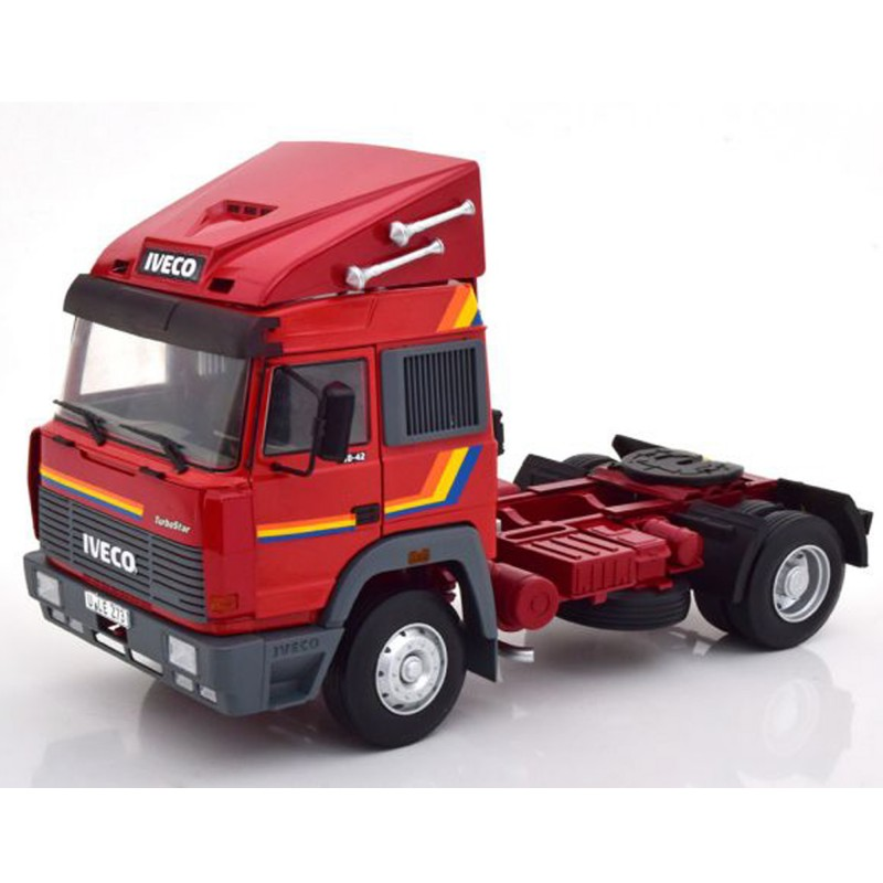 Iveco Turbo Star 1988 Red 1:18 Scale