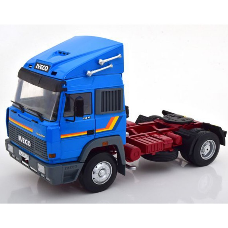 Iveco Turbo Star 1988 Blue 1:18 Scale