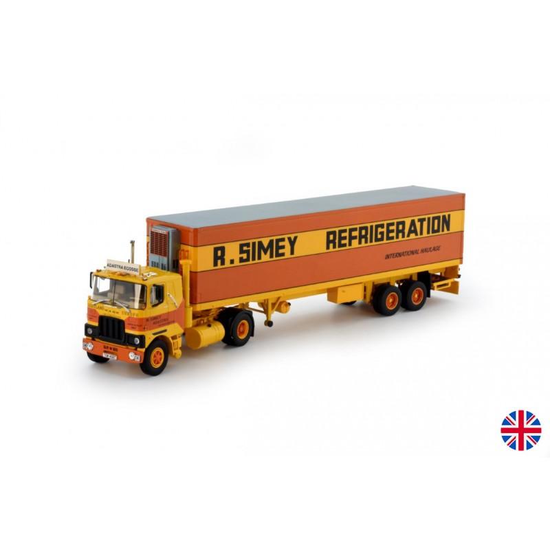 Simey Refrigeration Mack F700 With Classic Reefer Trailer