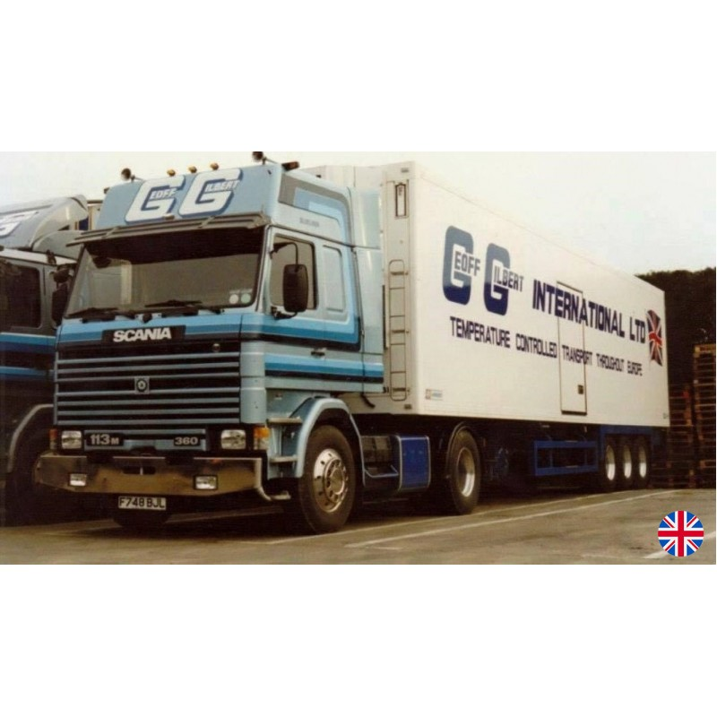 Geoff Gilbert Scania 3-Series With Classic Reefer Trailer
