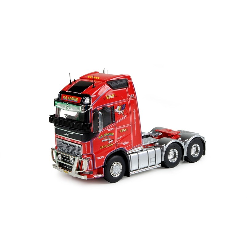 Ks Transport Red Volvo FH04 Globetrotter XL 6X4 Tractor
