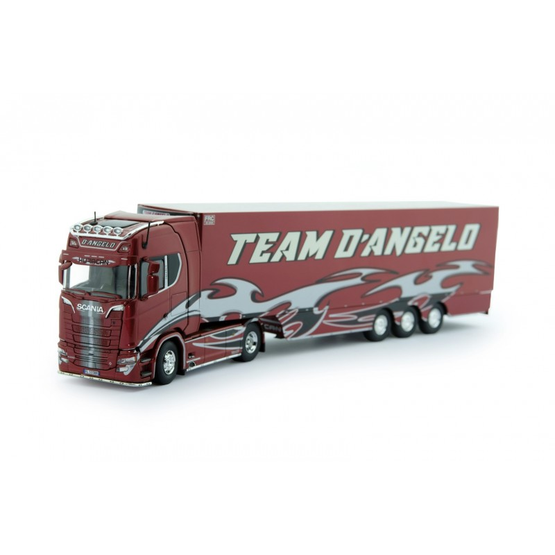 D'ANGELO HURACAN Scania S-series Highline With Reefer Trailer