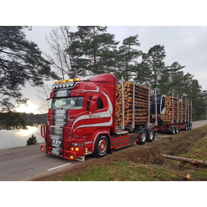 Gustafssons Scania R-Series Log Transporter