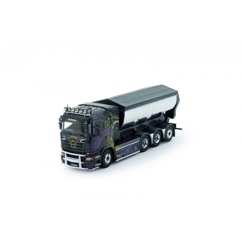 Gahne Akeri Scania R-Series With Asphalt Tipper Trailer
