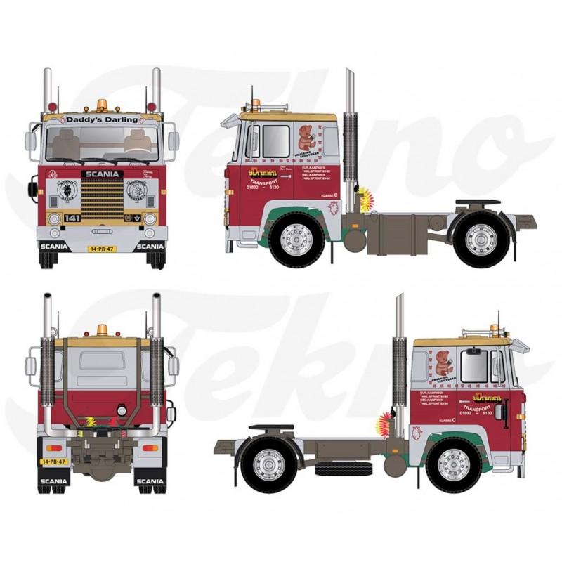 Finn Nielsen Scania 141 V8 Truckstar Legends
