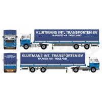 Kluitmans Volvo F89 With 2 Axle Tilt Trailer