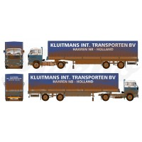 Kluitmans Dirty Volvo F89 With 2 Axle Tilt Trailer