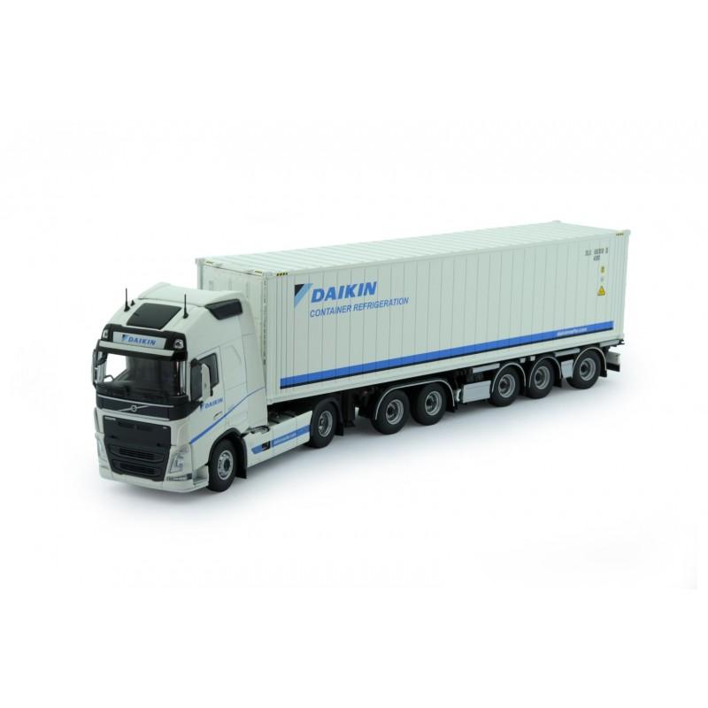 Daikin Volvo Fh04 Globetrotter Xl With Daikin Reefer Container