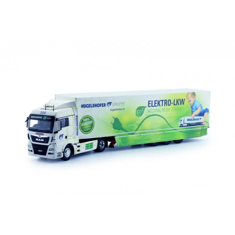 Hugelshofer Transport Ag Man Tgx Box Semitrailer