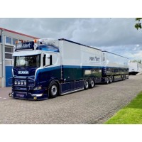 Van Herk Scania R650 Rigid With 13.60M Lzv Trailer
