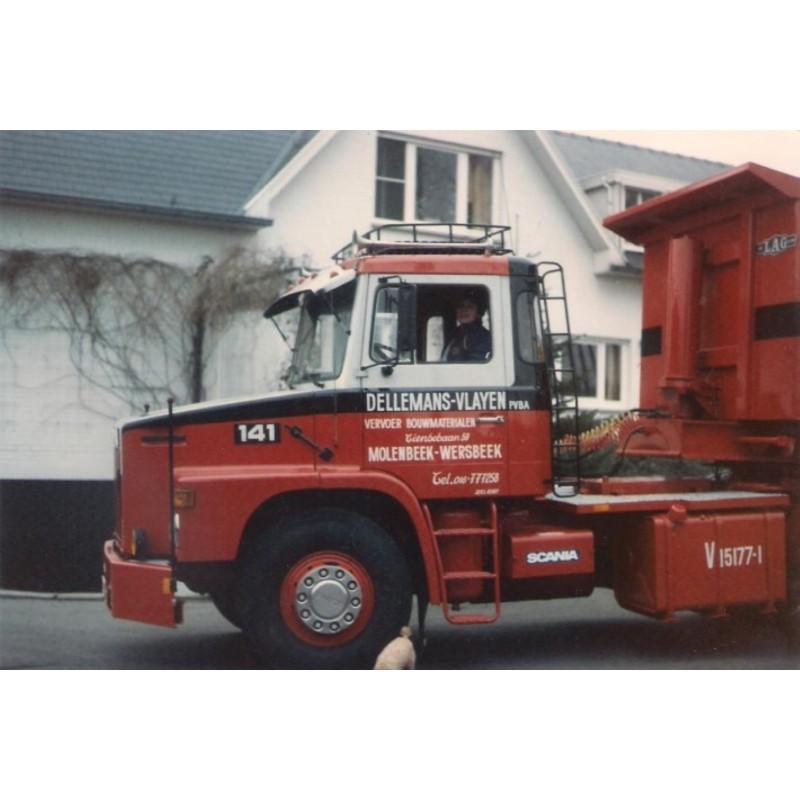 Erik Dellemans Scania 141 Torpedo 4X2