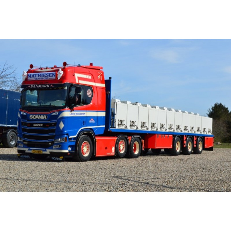 Lasse Mathiesen Scania Next Gen R-Series Highline Resin Eel Trailer
