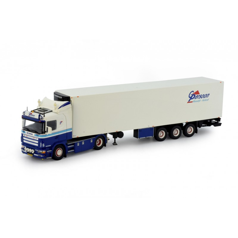 G Persoon Transport Scania 4-Series 144-530 With 3 Axle Zamac Reefer Trailer