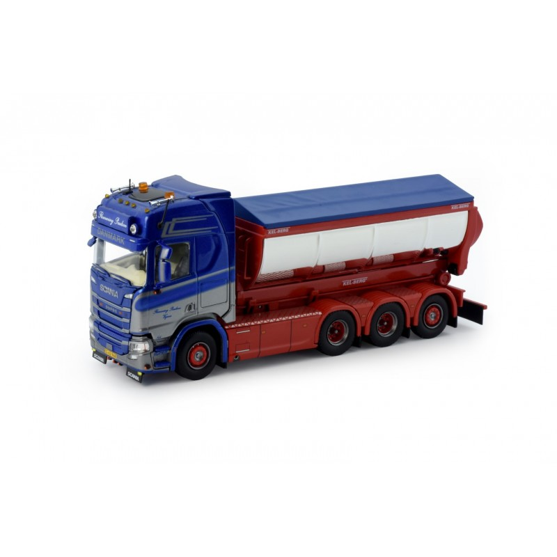 Flemming Paulsen Scania Next Gen R-Series Highline With Hook Arm And Asphalt Container