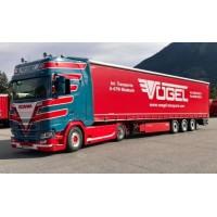 Vogel Scania Next Gen S-Series Highline With 3 Axle Curtainside Trailer