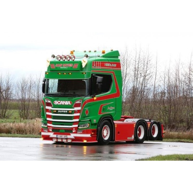 Jan Mues Scania With Reefer Trailer