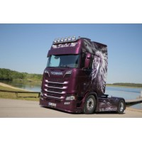 Stelzl Scania Next Gen S650 Highline With 3 Axle Curtainside Trailer