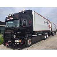 Tom Redant Scania R730 Highline Rigid With 3 Axle Trailer