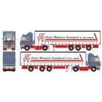 Peter Wouters Scania 143 Streamline 4X2 With Curtainside Trailer