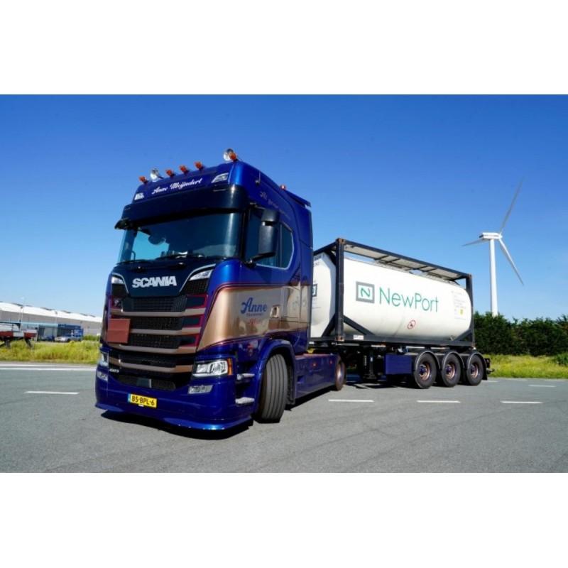 Anne Transport Bv Scania Next Gen S450 Highline Swap Tankcontainer