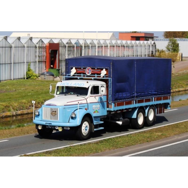B&G Volvo Titan 495 6X2 Rigid