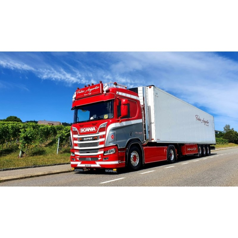 Fabio Aegerter Scania Next Gen R520 With 3 Axle Reefer Trailer
