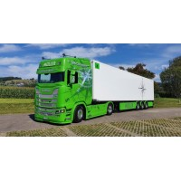 Muller - Discovery Scania Next Gen Highline With Zamac Reefer Trailer