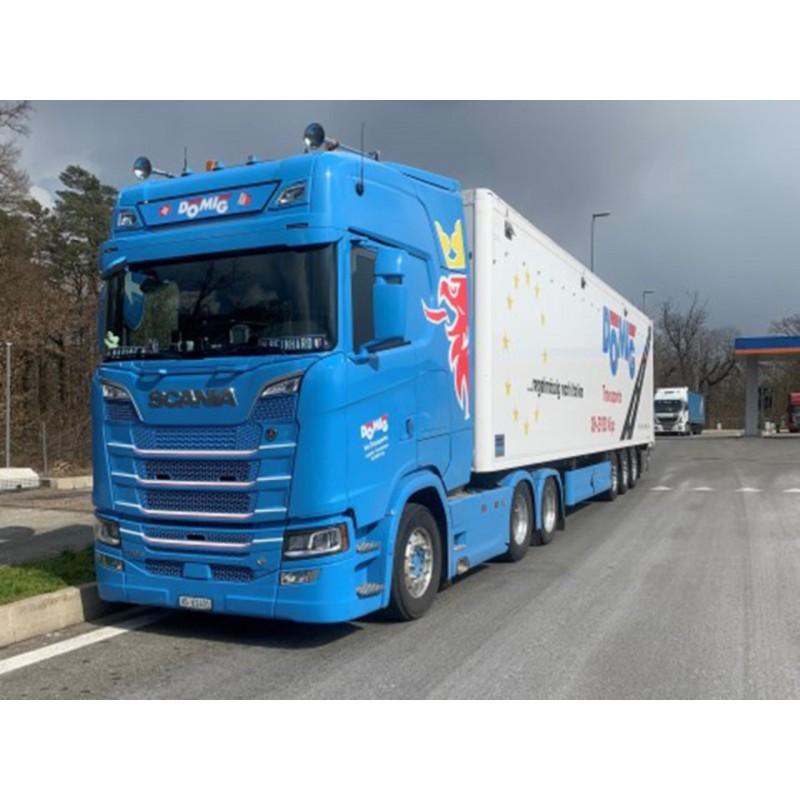 Domig Scania Next Gen Highline With Walkingfloor Trailer