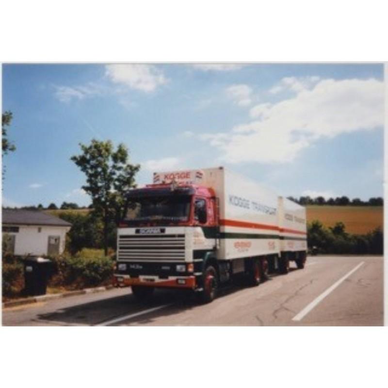 Kogge Scania 143 Rigid With Box Trailer
