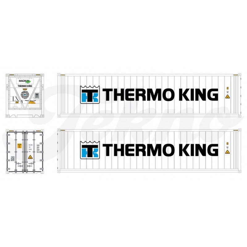 Thermo King België Losse 40Ft Reefer Container