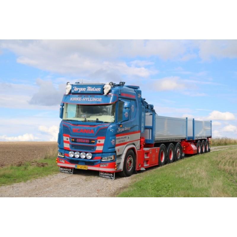 Jorgen Nielsen Scania Next Gen P-Series Hooklift Crane And Container