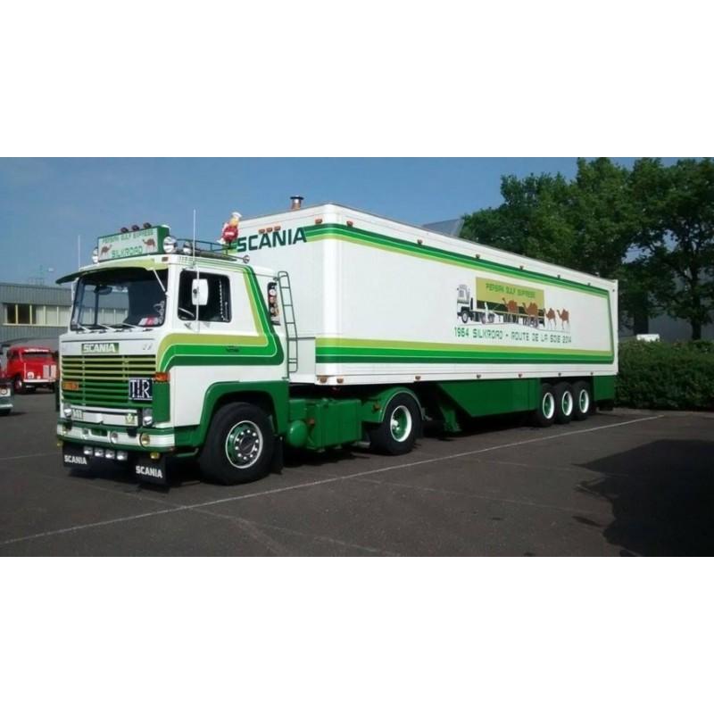 Daniel Morin Persian Gulf Expres Scania 141 With 3 Axle Box Trailer