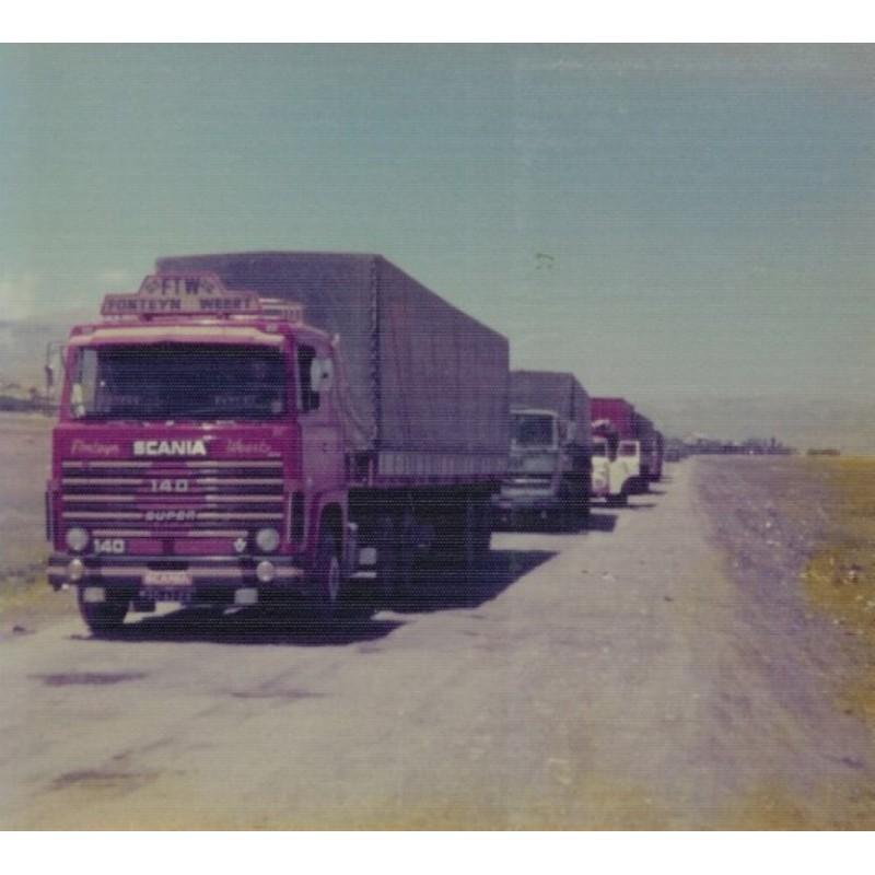 Fonteijn Scania 140 With 2 Axle Classic Tilt Trailer
