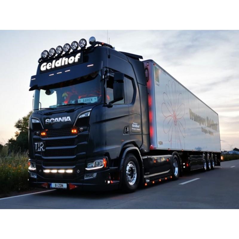 Geldhof Transport Scania Next Gen S-Series Highline With 3 Axle Reefer Trailer