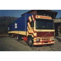 Zurkirchen Volvo F12 Globetrotter 4X2 With Tarpaulin Trailer