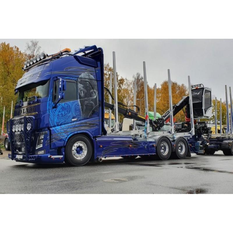 Eds Trafrakt - Moelven Volvo FH04 Globetrotter XL With Log Trailer