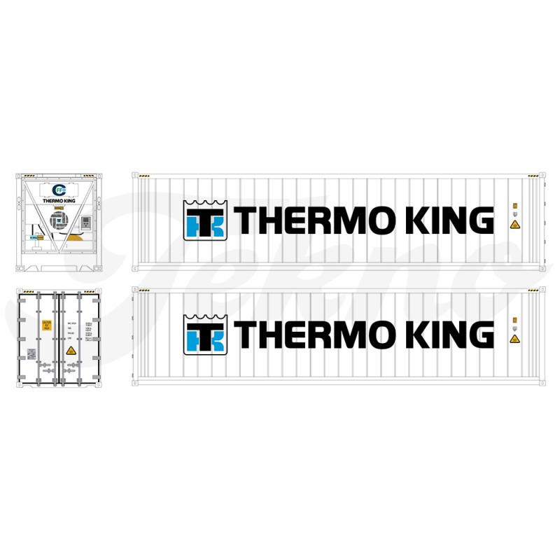 Thermo King Losse 40Ft Reefer Container