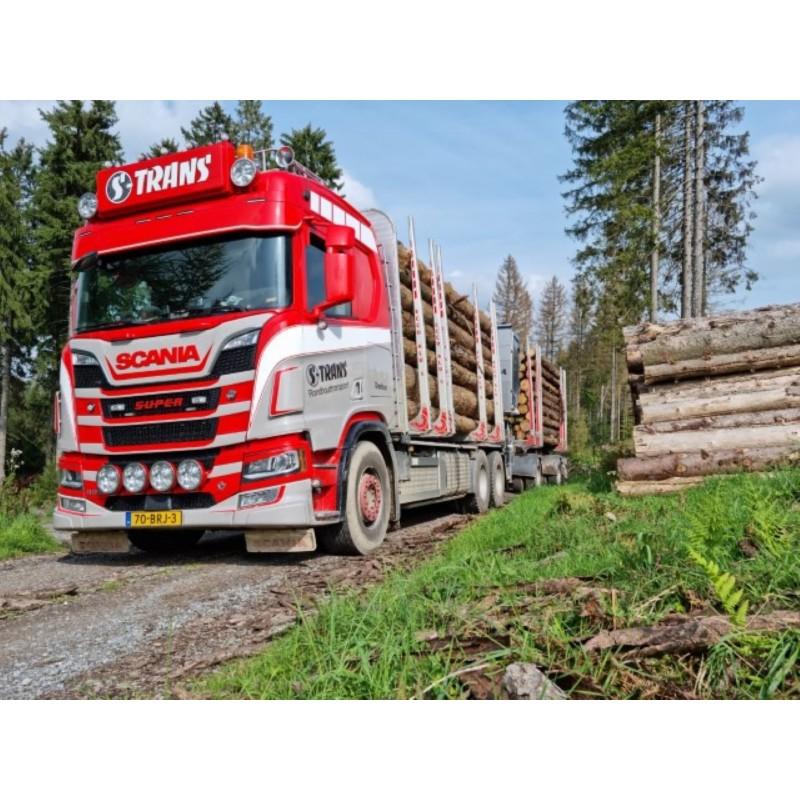 S-Trans Scania Next Gen R650 Rigid With Log Trailer
